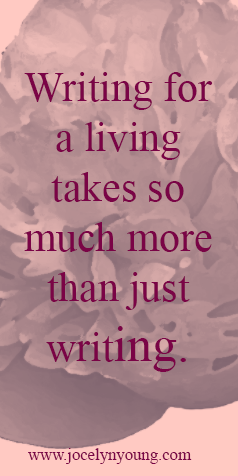 Writing takes so much more- on not giving up
