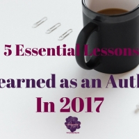 5 Essential Lessons I Learned as an Author in 2017